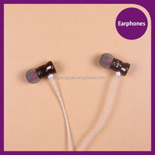 Factory price fashion design in ear earphones for iPhone/Android phone with super bass sound, metal ear house headphones