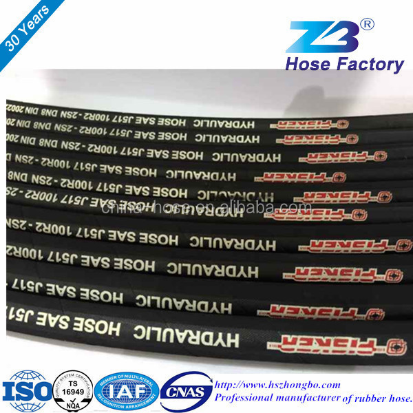 R1AT R2AT Hengshui Bettis High-Pressure Braided Rubber Hose