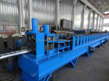 PLC control Automatic CE&ISO Certificated Quality Pitch Fence Post Making Machine