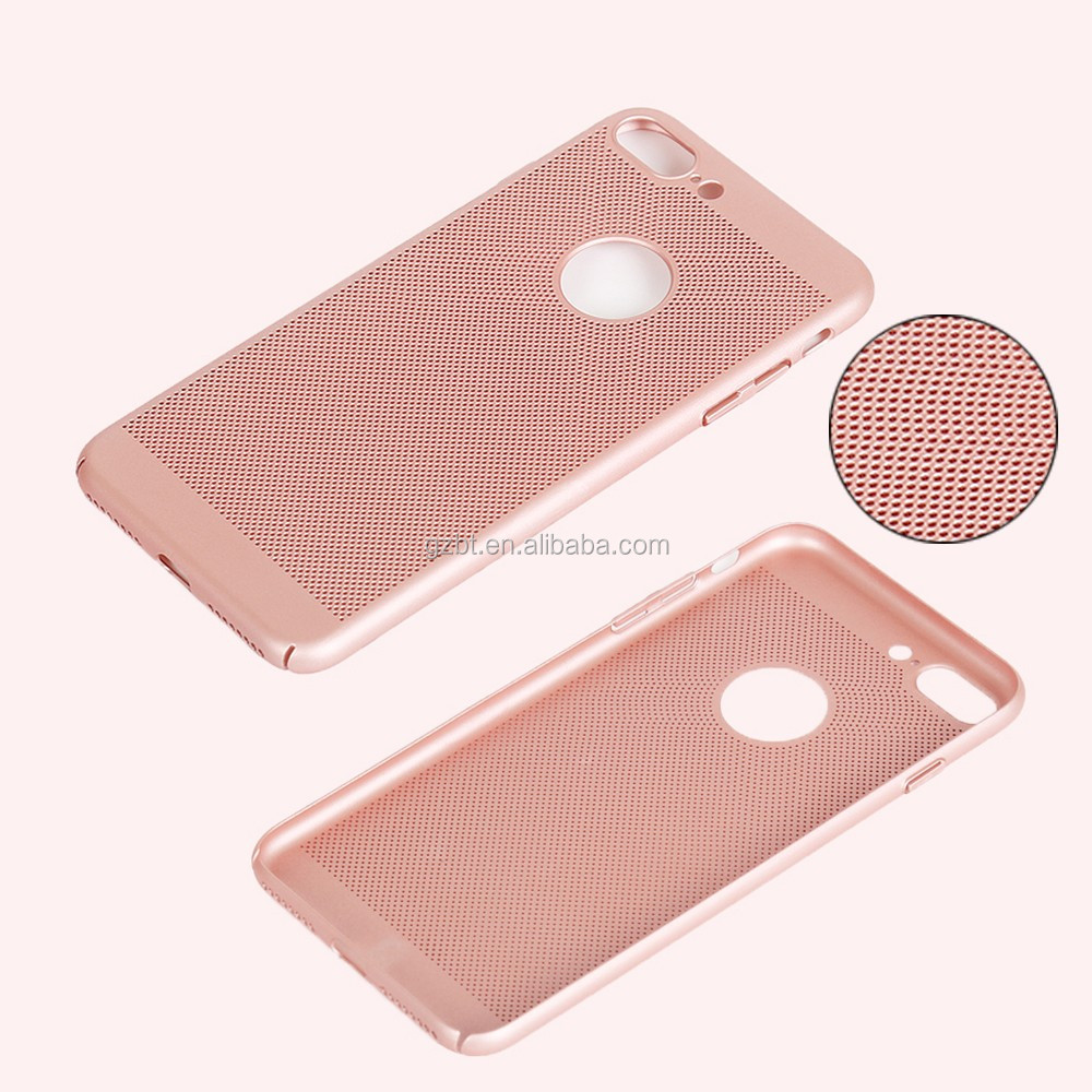 New Luxury fashion mesh PC cell phone case for TECNO C9 mobile phone