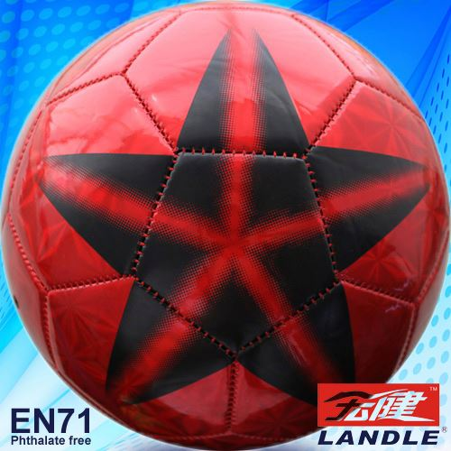 Leather Stitched machine stitched soccer ball lots