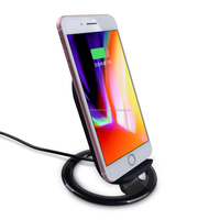 Fantasy Car Wireless Charger Pad Receiver Qi Fast Mobile Phone Wireless Power Bank Charger For Oppo Vivo Iphone 8