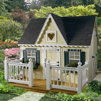 Wood Storage Outdoor Wood Kids Playhouse Playsets Tool Shed Wood