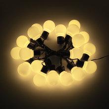Светодиодный садовый Газон лампа 5 м 10 м 110 В/220 В 10-40 светодиодный Глобус лампы на веревочке открытый двора Ландшафтный декор для вечеринки Р...(Китай)