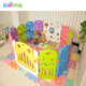 New design colorful toddler playpen baby play yard gate/large playpens for babies/outdoor playpens for toddlers