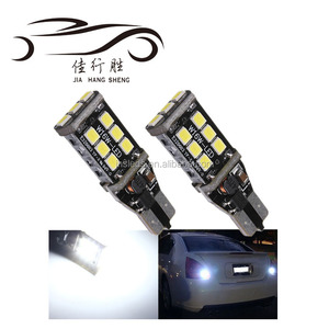 Super bright 12V 5W car back up light bulb canbus W16W LED T15 15SMD 2835
