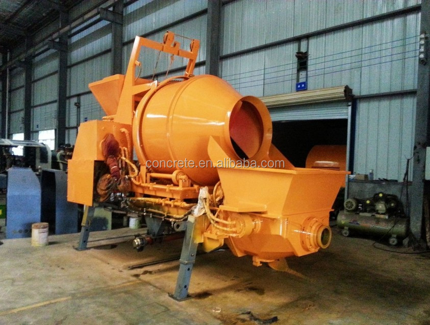Best selling Small Electric concrete mixer pump/concrete mixing pump/concrete mixer machine JBTS30-13 -37S