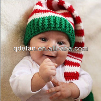 294fc90785e1d Navidad Elfo Bebé Sombrero Del Bebé Ganchillo - Buy Sombrero Del ...