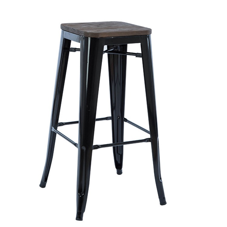 Marvelous Colorful Iron Bar Stool Wood Seat Cheap Price Chairs Stools Buy Restaurant Chairs China Chair Salon Stool Cheap Commercial Bar Stools Product On Inzonedesignstudio Interior Chair Design Inzonedesignstudiocom