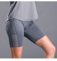 female gym wear women spandex shorts women moisture cycling shorts