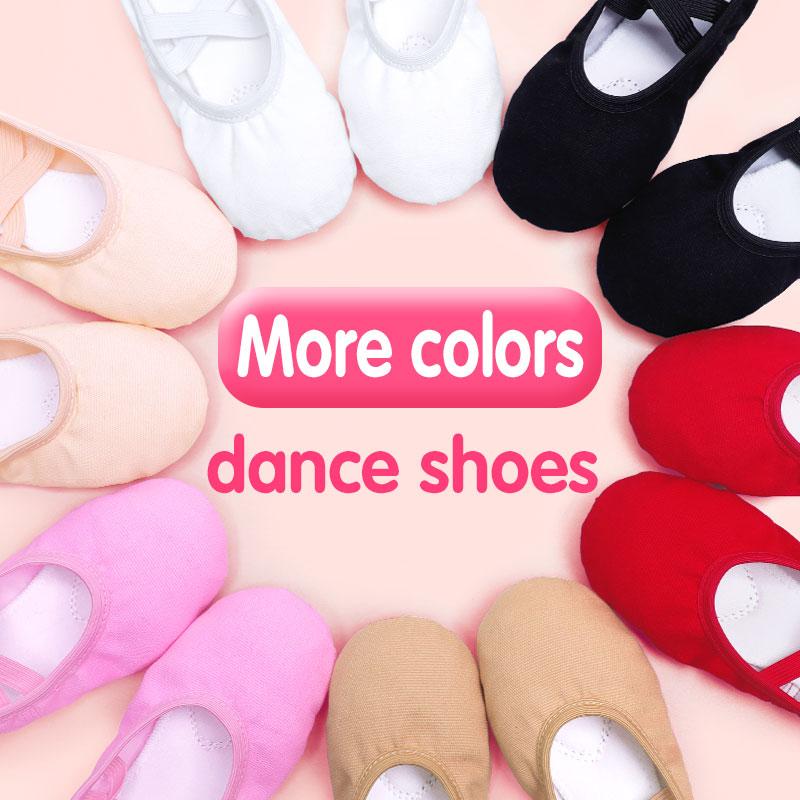 Wholesale Soft Ballet Shoes Dance Slippers