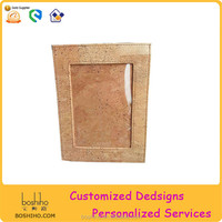 Boshiho Ecofriendly Cork Wood Photo Frame Picture Frame