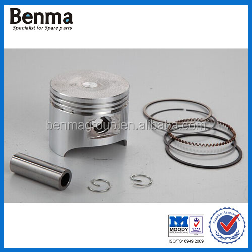 Top quality motorcycle block piston for your choice/chinese spare parts for motorcycle