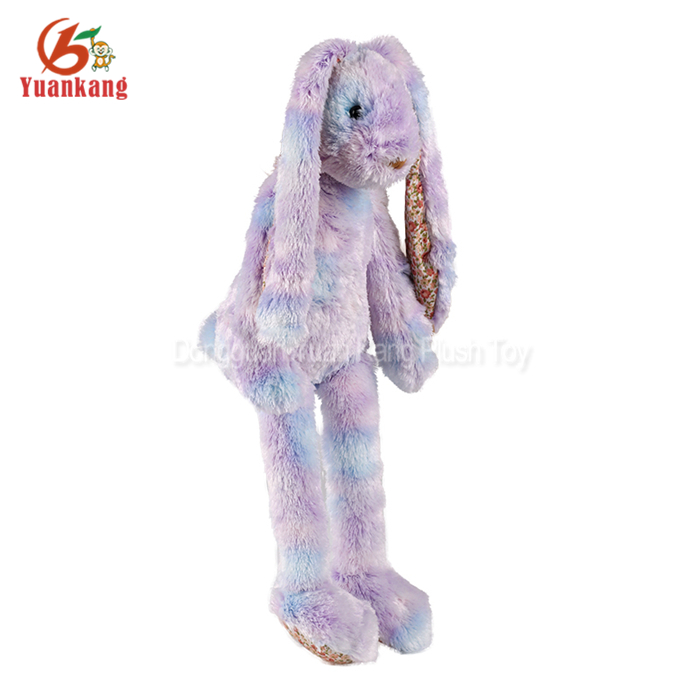 ICTI audit factory wholesale stuffed animal plush colorful rabbit toy