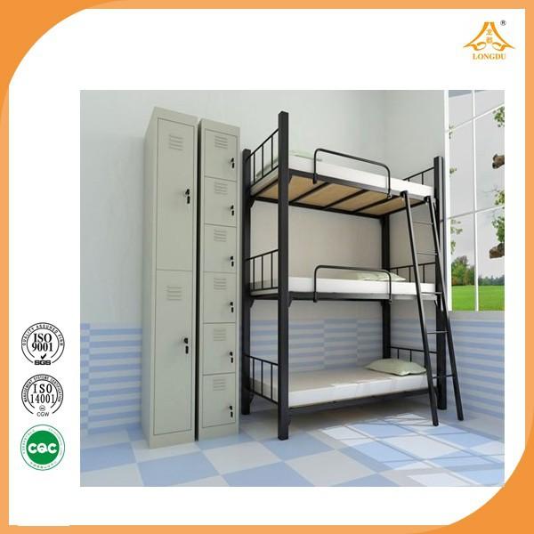 dreifach etagenbett 3 tier etagenbett m bel kaufen online neuesten doppelbett designs metalbett. Black Bedroom Furniture Sets. Home Design Ideas