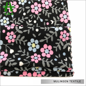 Mulinsen Textile Hot Sale polyester stretch fabric wholesale Knit FDY Printing Fabric Wholesale