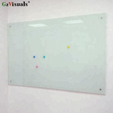 5mm Thickness Magnetic Tempered Glass Notice White Board