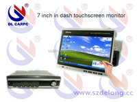 7 inch TFT-LCD in dash car touch screen monitor