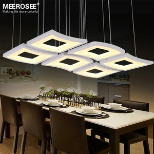 Modern LED Pendant Light Fixture Creative Acrylic LED Hanging Lamp for Dining room Restaurant Lustres Lighting MD81924