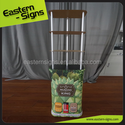 New Arrival Trade show Tension Fabric display counter