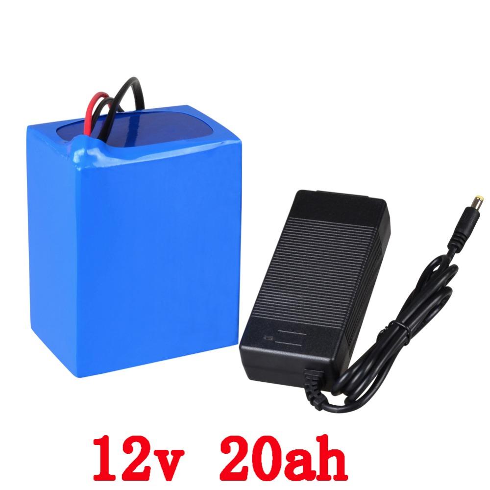 Compra 12 v 20ah batería de litio online al por mayor de