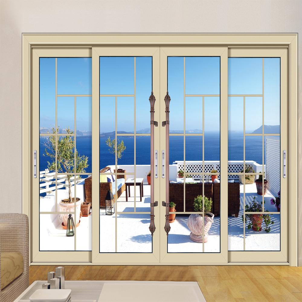 HS-JY8028 aluminium sliding door extrusions profile pictures & Hs-jy8028 Aluminium Sliding Door Extrusions Profile Pictures - Buy ...