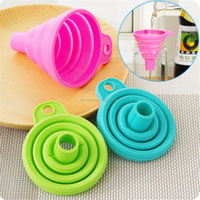 Food Grade Kitchen Tools Funnel Silicone Funnel Custom Funnel