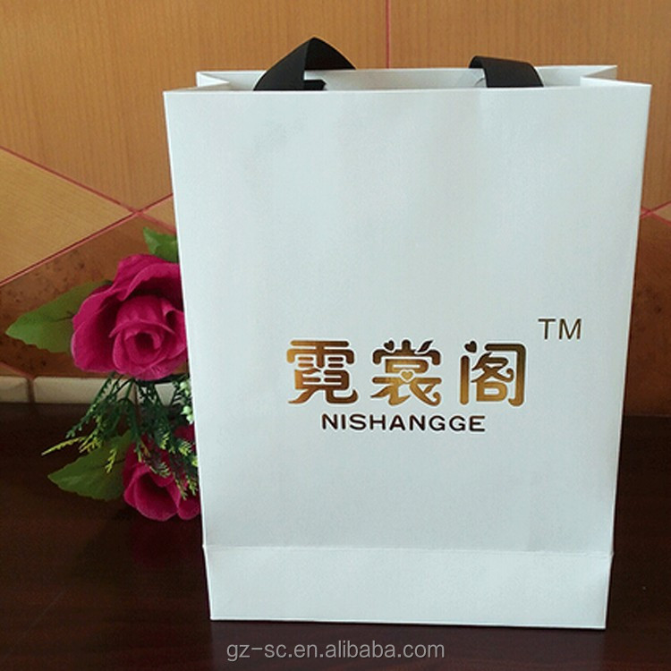 High end paper shopping bags wholesale