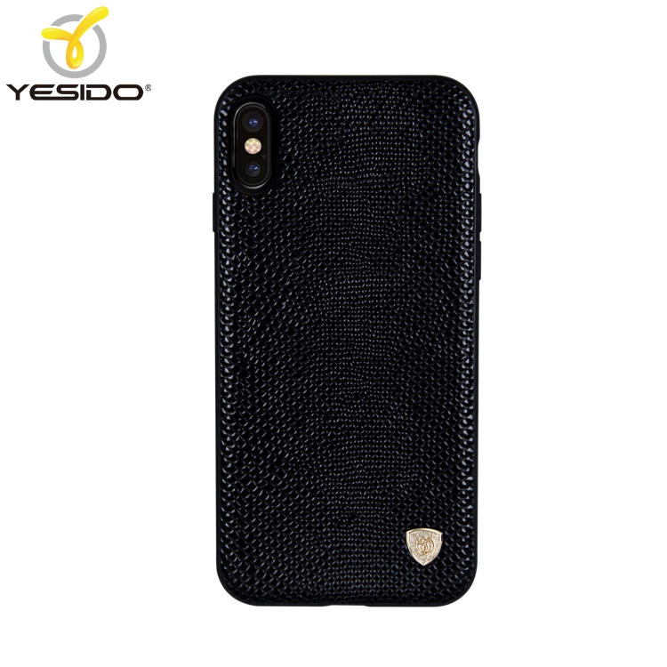 Latest design 3in1 woven Lizard skin leather cover for iphone x plastic luxury handphone case for iphone x