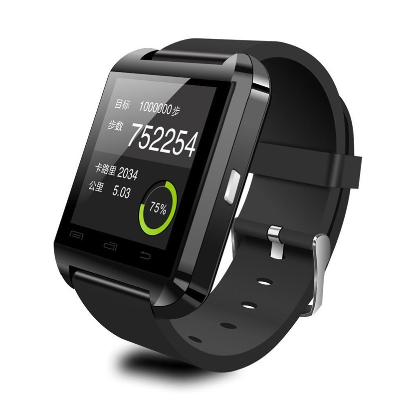 U8 Smart Wrist Watch SmartWatch U8 For Apple <strong>iPhone</strong> Samsung for Huawei HTC Android phone