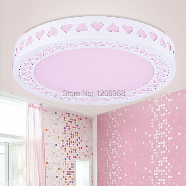 Romantic Princess Bedroom Ceiling Lamp LED Lamps Modern