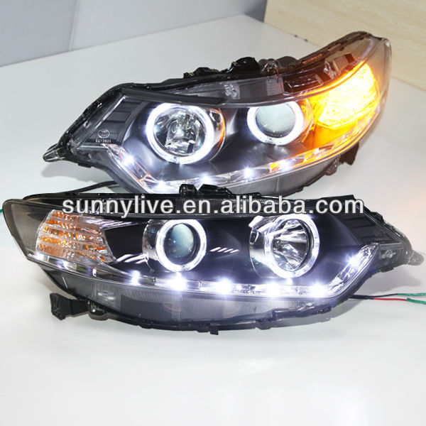 For Honda European Version For Accord Spirior Led Head Lamp 2009 ...