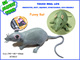 squeeze rubber Halloween Jumbo animals rat