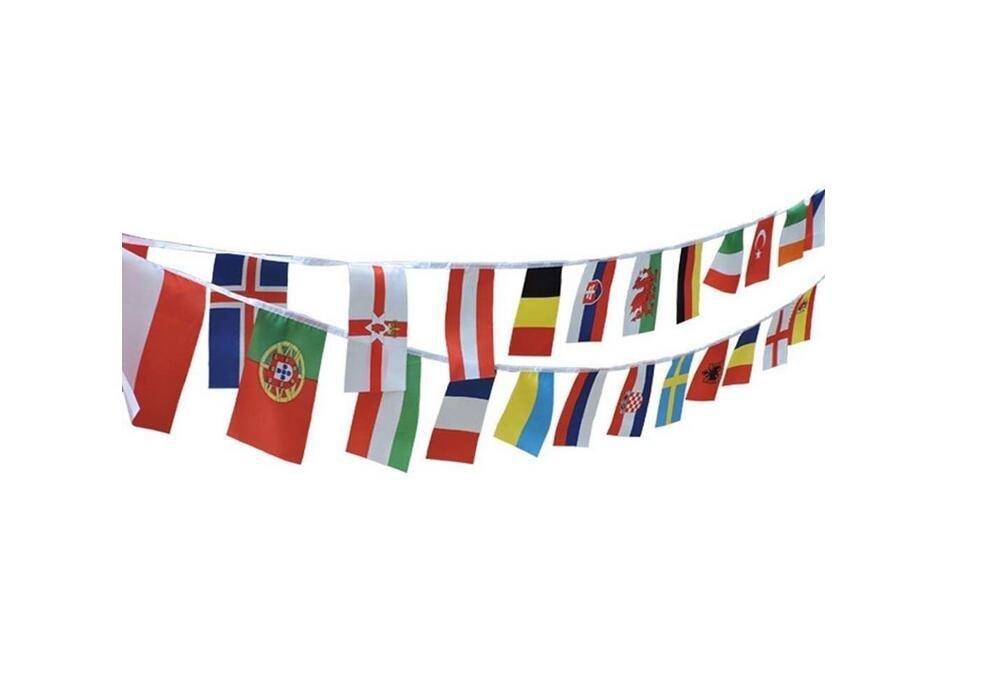 Buy Zewik Top 100 String Flag Banners 82 Ft International