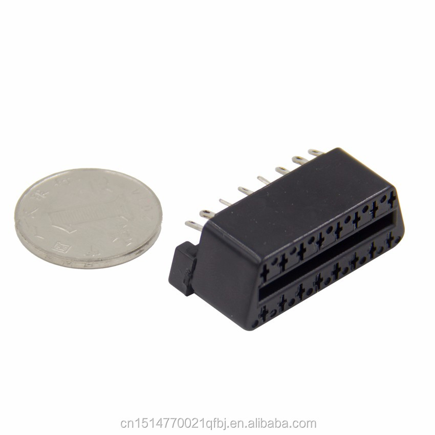 J1962F OBD2 16 Pin Female connector OBD2 Socket