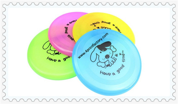 So Cute translucent Plastic Frisbee For Promotion and Entertainment