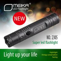 mini Waterproof aluminium led flashlight