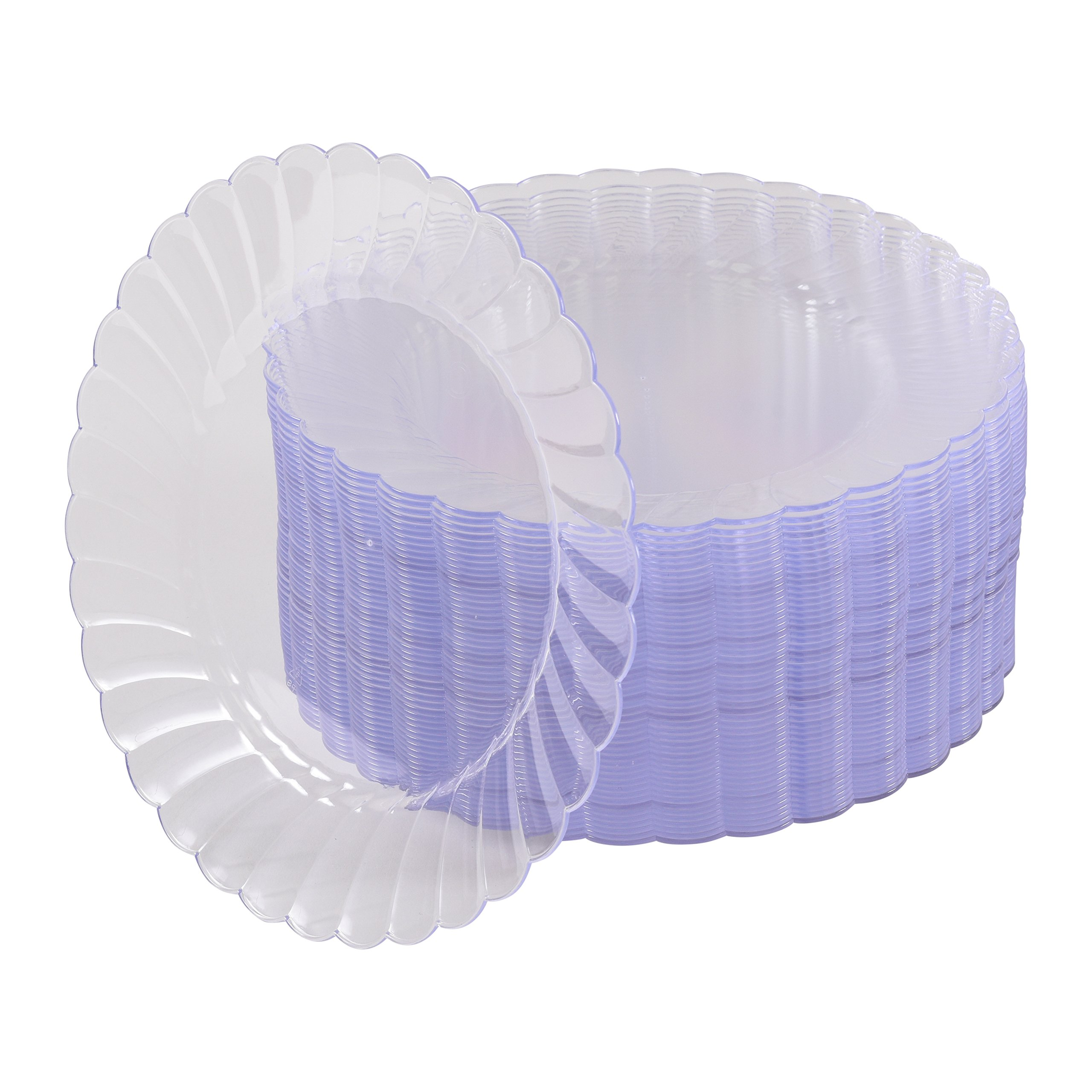 Get Quotations · 100 Premium Hard Clear Plastic Plates Set By Oasis Creations - 6  Clear Round Disposable  sc 1 st  Alibaba & Cheap Hard Plastic Plates find Hard Plastic Plates deals on line at ...