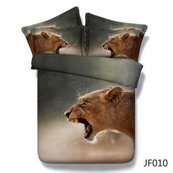 Comforter Set Stunning Lone Lioness Hd 3d Animal Print Bed Set - Buy Lion  Print Bed Set,3d Printed Bedding Set,Animal Print Bedding Sets Product on  ...