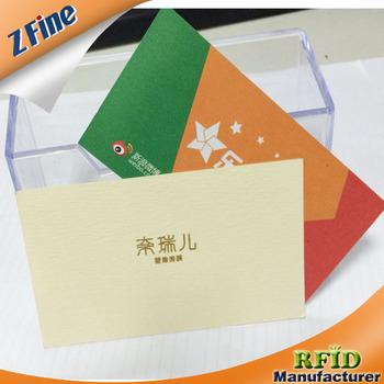 Epais Coton Papier Bord Colore Cartes