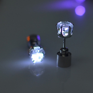 Customized Hot Selling Cheap LED Earrings yiwu Factory