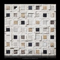 manmade tumbled marble mosaic tile exterior marble glass mixed mosaic tiles for bathroom walls floors modern ancient decor
