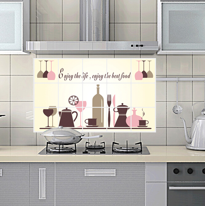 Cheap Kitchen Decor: Free Shipping Removable Cheap Home Decor Kitchen Wall Tile