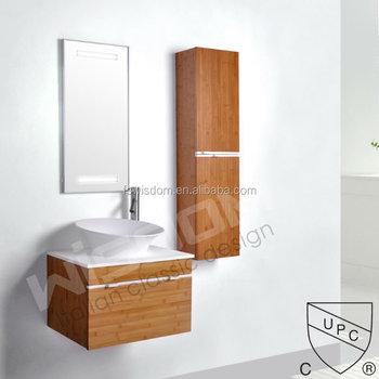 Solid Surface Wash Basin Bamboo Vanity Bathroom Cabinet Wd48 Buy Gorgeous Bamboo Vanity Bathroom