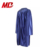Factory custom wholesale kids shiny graduation gowns