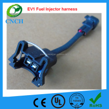 EV1 Female to EV6 Male Fuel Injector Connector Electrical Plug Clip Adapter