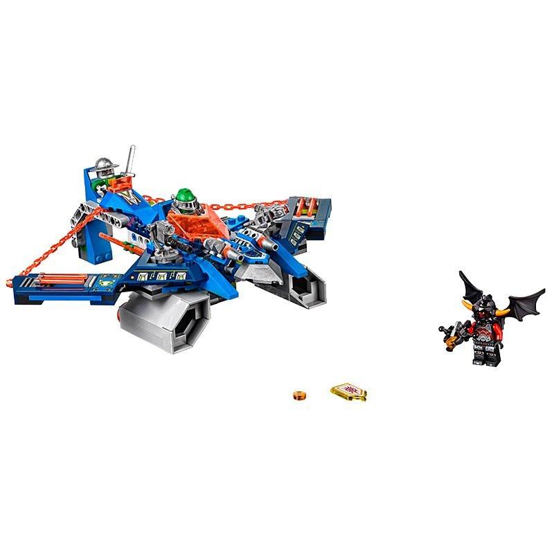UKLego Nexo Knights Axl Aaron Foxs Aero Flieger V2 Combination Marvel Building Blocks Kits Toy.