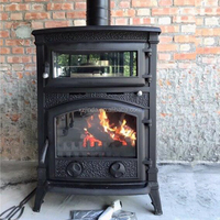 Popular Long-life Freestanding Wood Burning Cook Stove Wood Oven Stove