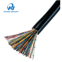 Color Code 8 16 25 50 100 200 Pair Copper Telecommunication Cable