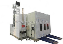 EP-30 CE approved car painting/used spray booth for sale/heat exchange paint